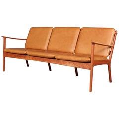 Ole Wanscher Three-Seat Sofa