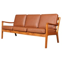 Ole Wanscher Three-Seat Sofa