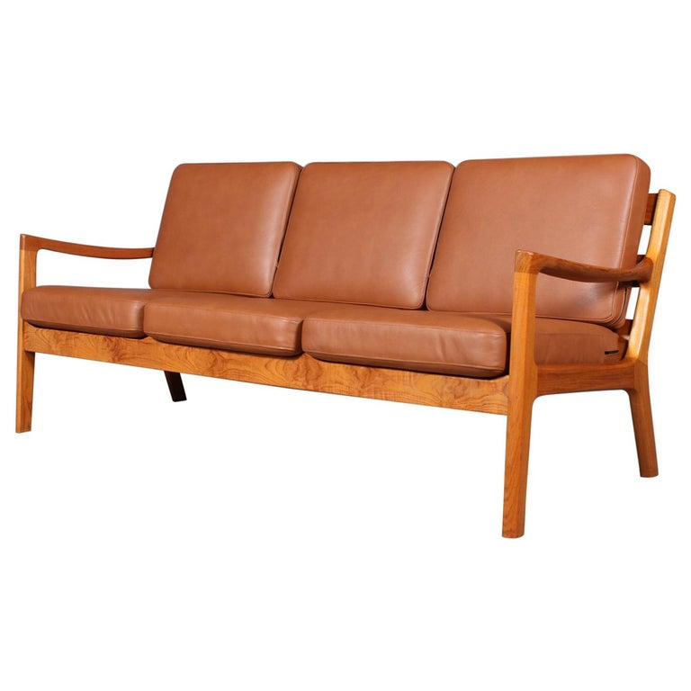 Ole Wanscher Three-Seat Sofa For Sale