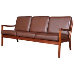 Ole Wanscher Three-Seat Sofa, Senator