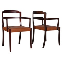Ole Wanscher Two Armchairs