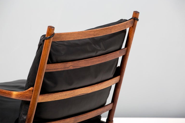 Ole Wanscher Vintage Rosewood Colonial Chair, 1950s For Sale 3