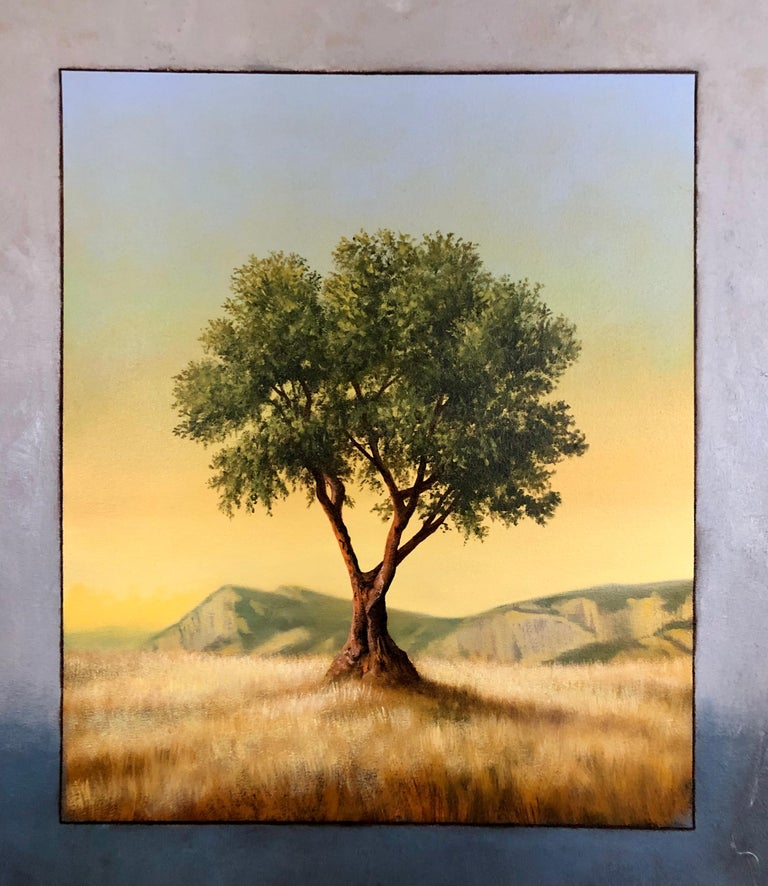 Scott Duce, American artist B. 1956. Oil on canvas, signed SD. Ex. Cavalier Galleries with signature, title, and date information on reverse. Scott Duce's work I can be found in many corporate, museum, and private collections including Random