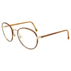 Oleg Cassini round vintage eyeglasses