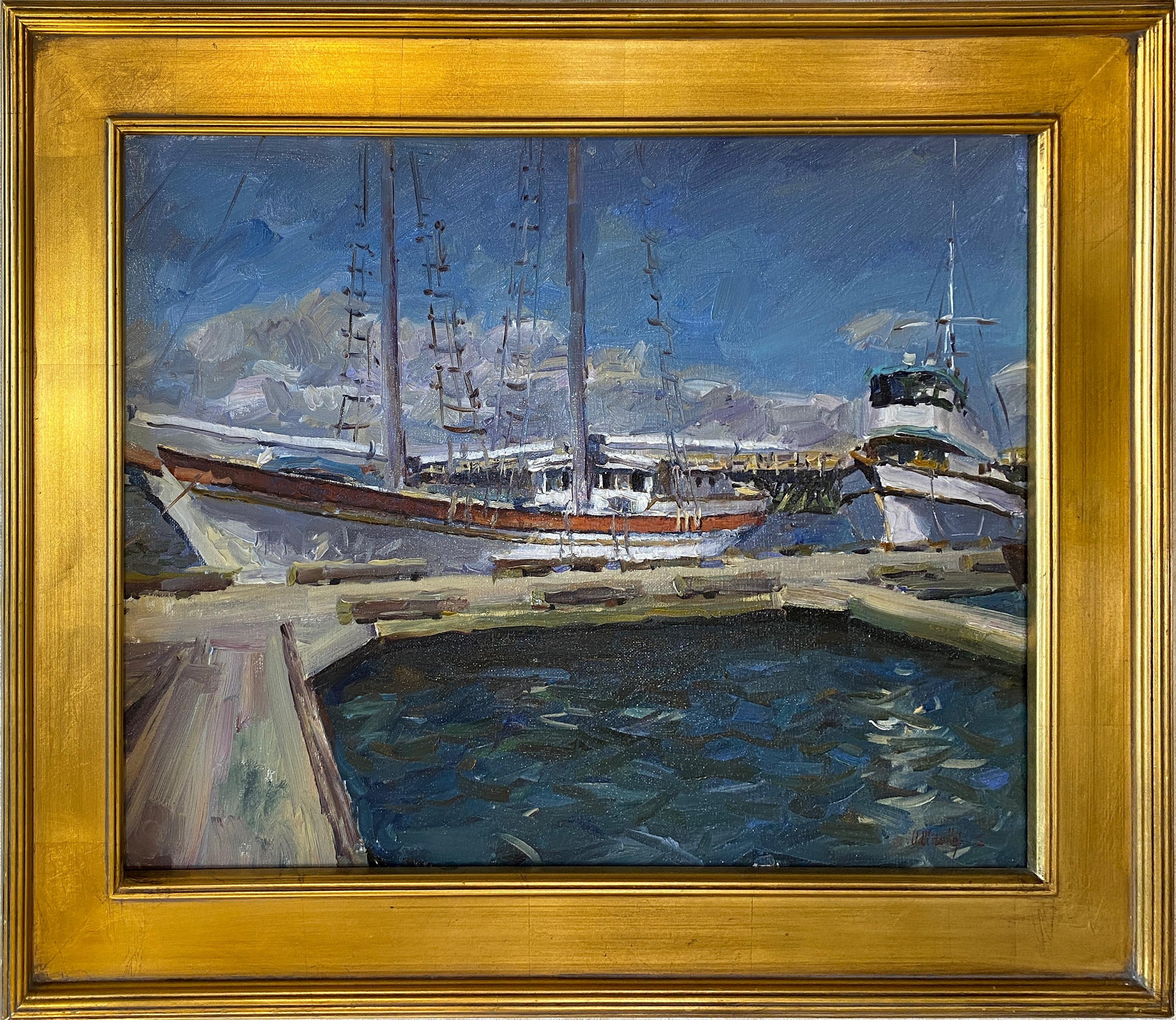 'Sunny Day' Oil on Canvas Painting by Ukranian artist Oleg Ulitskiy