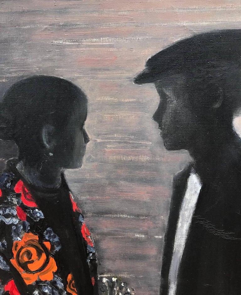 """Rendezvous"" - Post-Modern Painting by Oleg Vukolov"