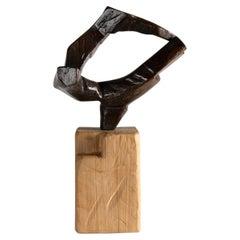 Olerki X, Bronze Sculpture by Zigor 'Kepa Akixo', Pays Basque