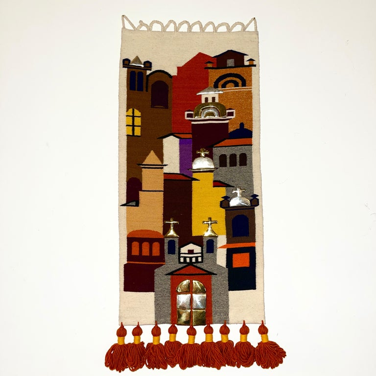 1960's Olga Fisch tapestry called