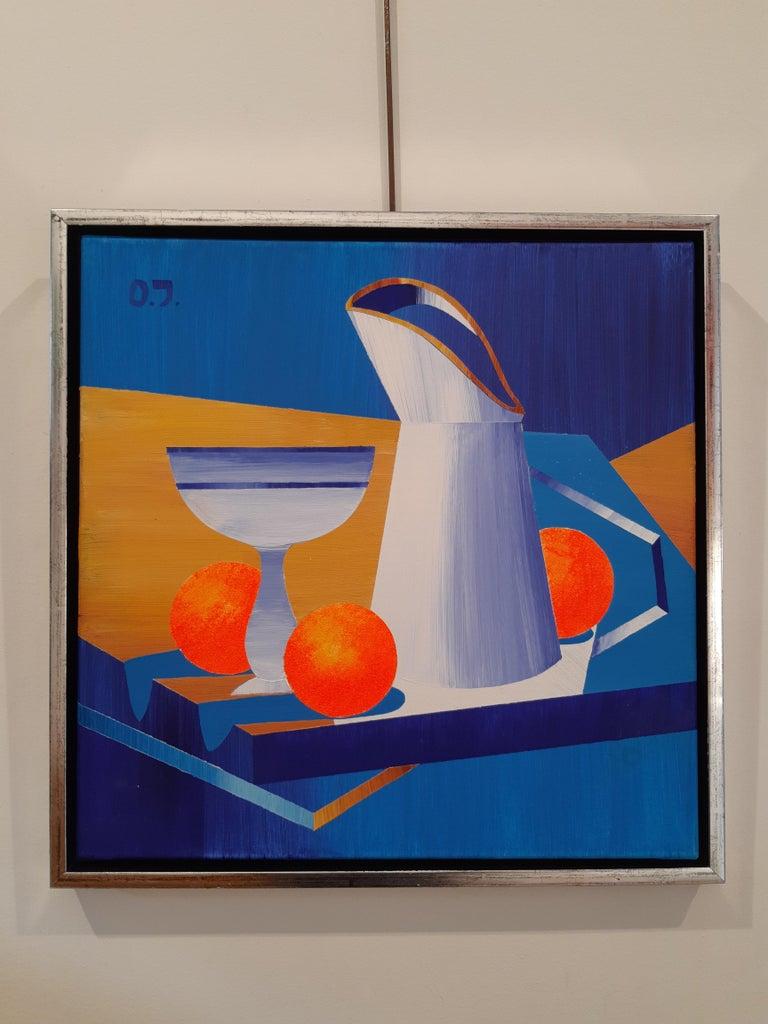 Danish Olga Jakobsen Acrylic on Canvas 2018 For Sale