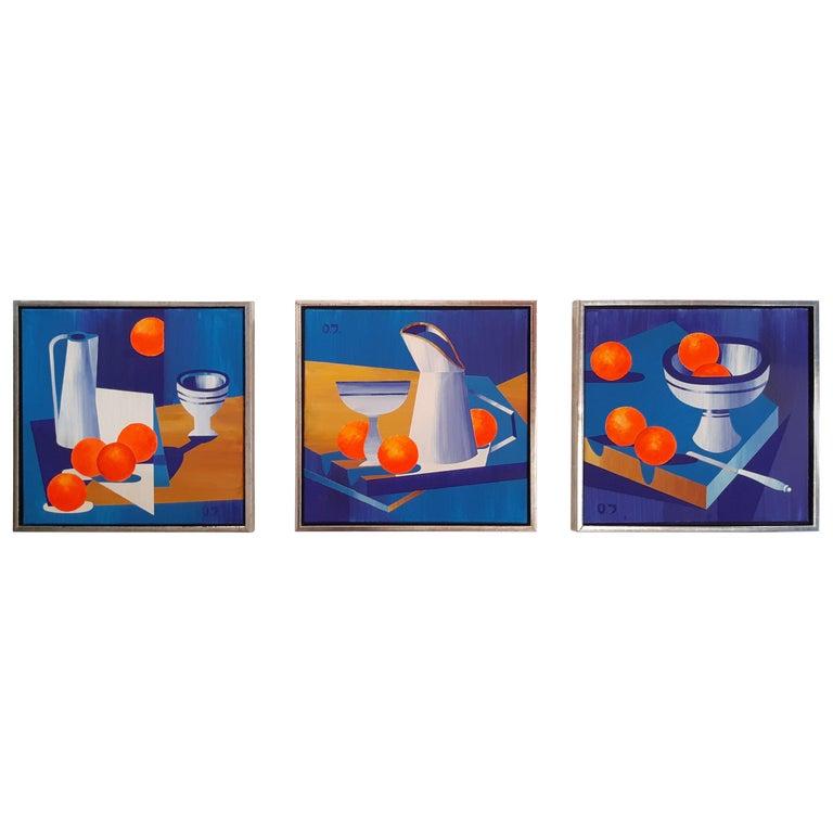 Olga Jakobsen Acrylic on Canvas 2018 For Sale