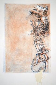 2010 Olga Koumoundouros 'Budget Enterprise' Contemporary Multicolor Mixed Media