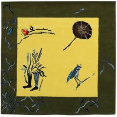 'Olga's Garden' Hand-Tufted Area Rug by Maria Loizidou & Pinton