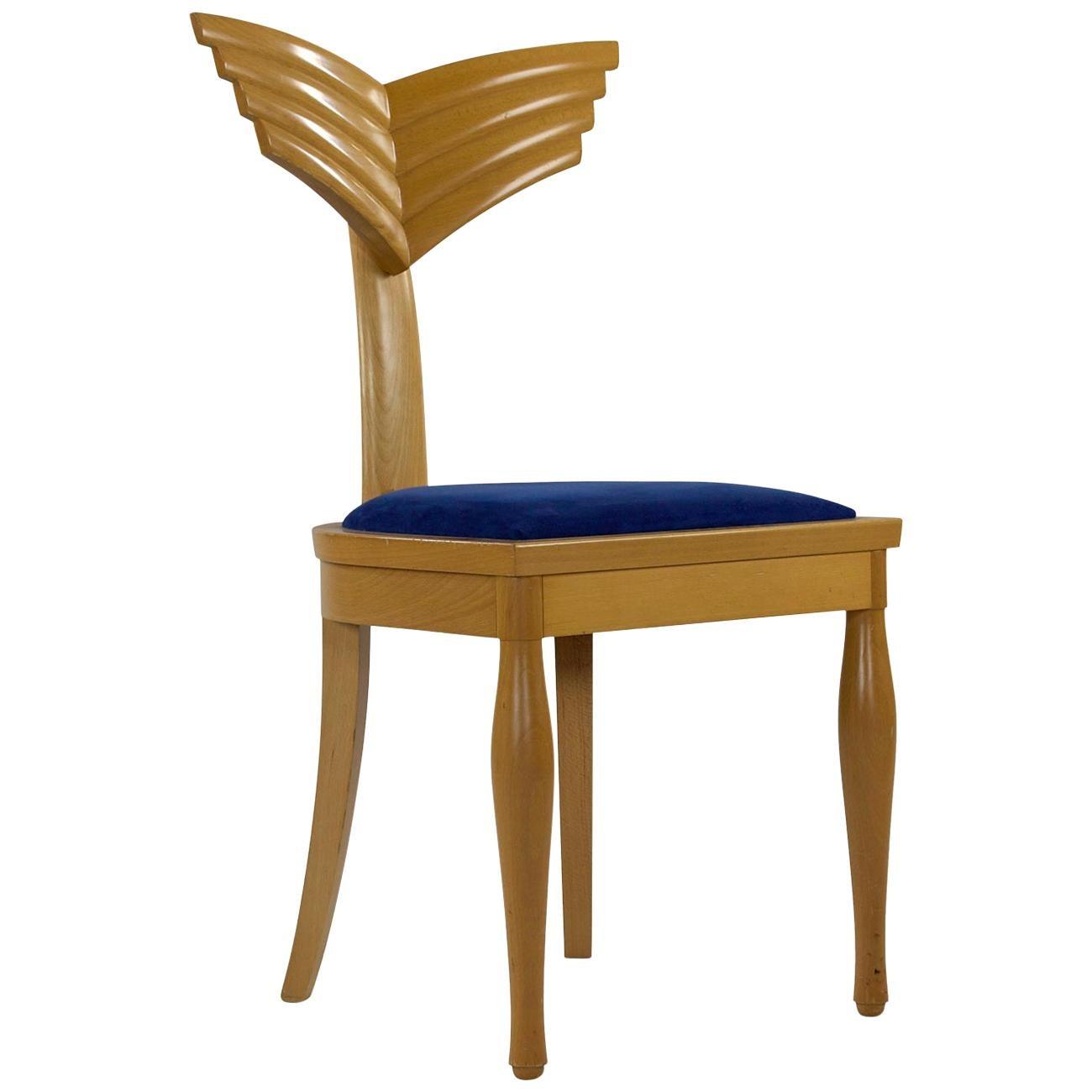 """Olimpia"" Chair, Design by Massimo Scolari, Manufactured by Giorgetti, Italy"
