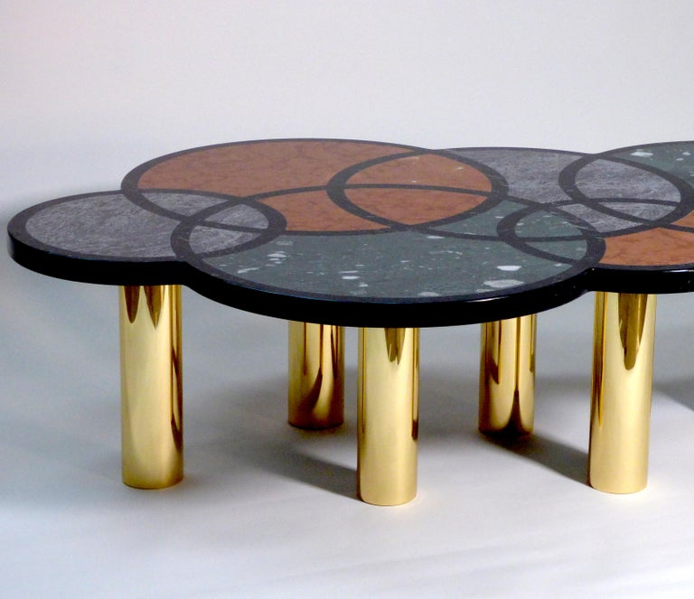 Coffee Table Olimpia Model by Studio Superego, Italy For Sale 1