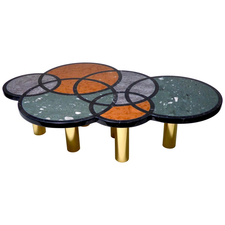 Coffee Table Olimpia Model by Studio Superego, Italy For Sale