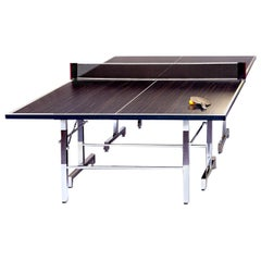 Olimpo Ping-Pong Table in Briar-Root Palisandro Wood