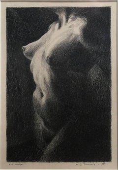 """Nude""  Circa 1930s Lithograph Dallas/Arkansas/Colorado Artist"