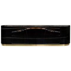 21st Century Modern Olival Sahara Noir Sideboard Handcrafted by Greenapple
