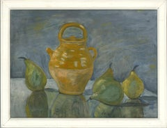 Olive Dickinson - 20th Century Oil, Still Life with Pears