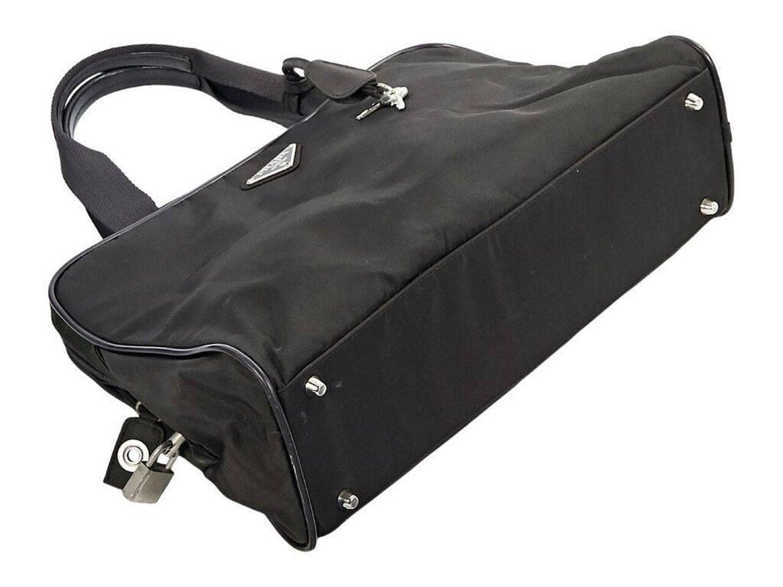 5978c9cc80e656 Olive Prada Nylon Handbag at 1stdibs