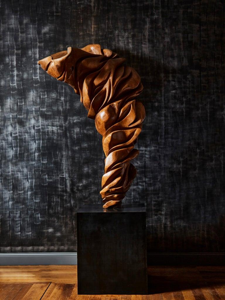 Olive Wood Sculpture In Excellent Condition For Sale In Saint-Ouen (PARIS), FR