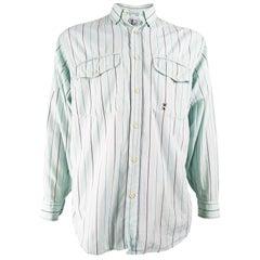 Oliver by Valentino Mens Vintage Pastel Mint Shirt