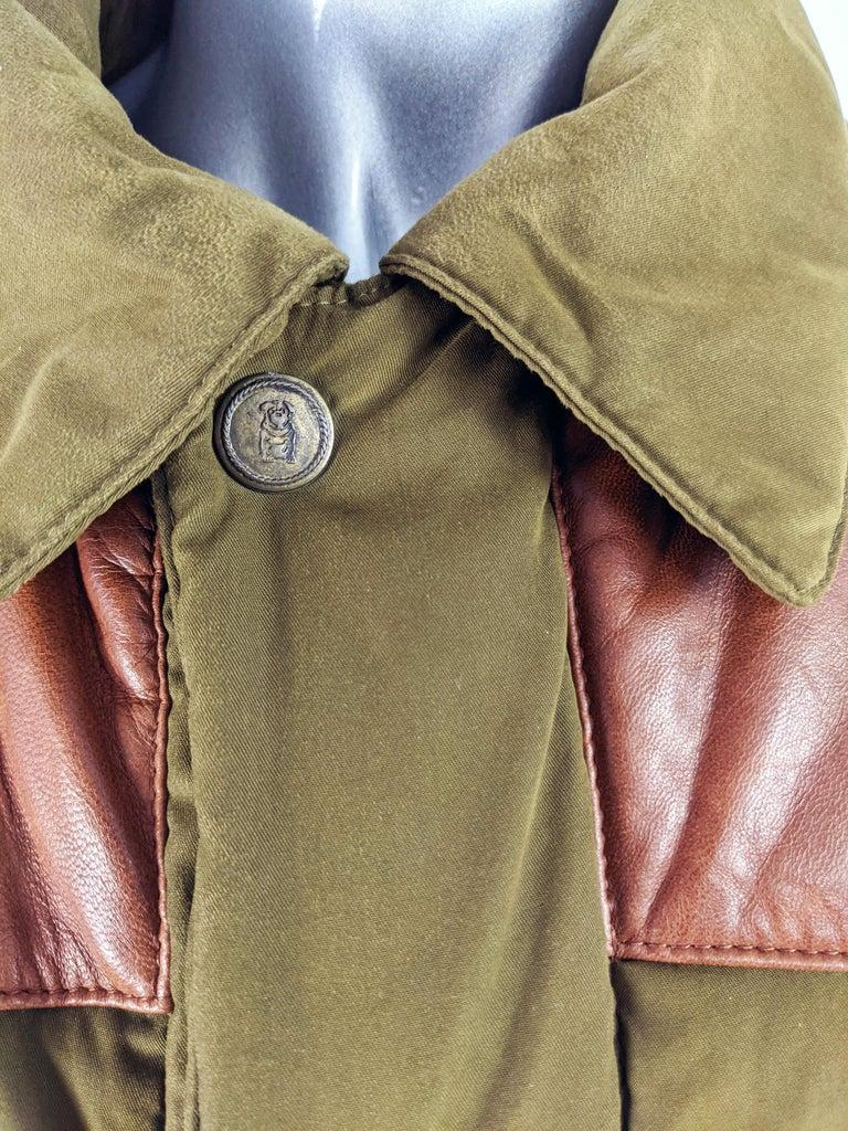 Men's Oliver by Valentino Vintage Mens Long Puffer Coat