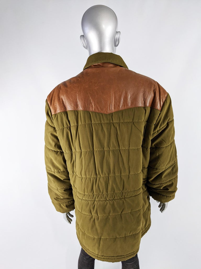 Oliver by Valentino Vintage Mens Long Puffer Coat 3