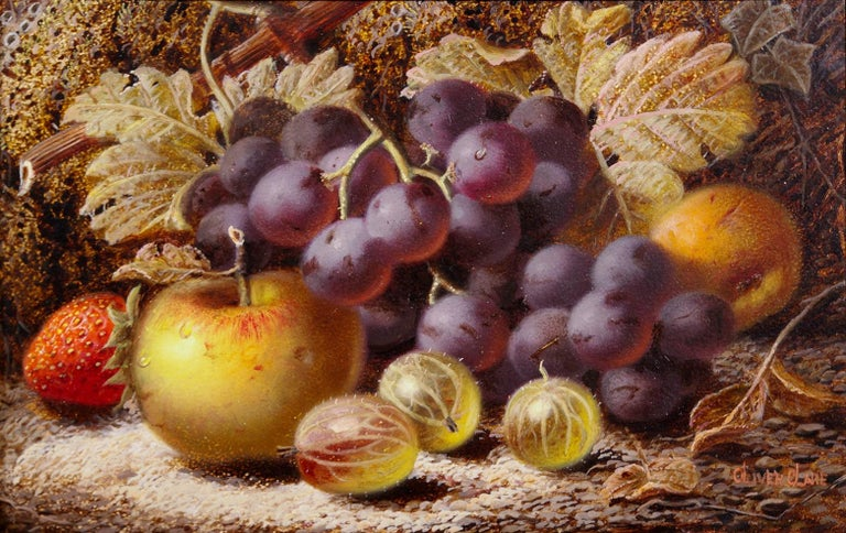 Still Life of Fruit - Painting by Oliver Clare
