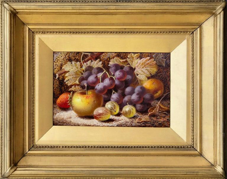 Oliver Clare Still-Life Painting - Still Life of Fruit
