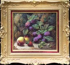 Still Life of Fruits (Pair)