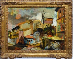 Paris Modern School, Cityscape Oil Painting by Oliver Foss