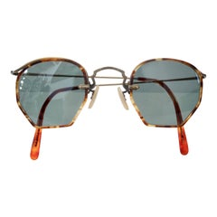 Oliver Peoples 1980s Tortoise Shell Sunglasses