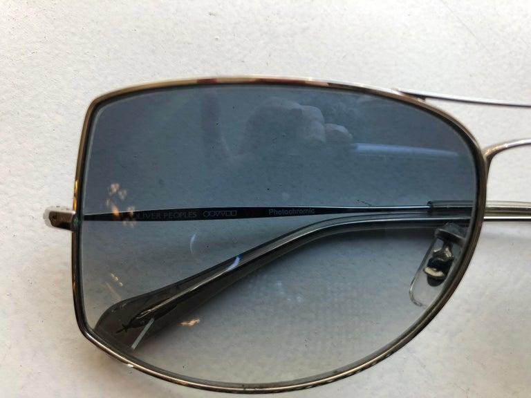 Black Oliver Peoples Jack One OV1090 Unisex Sunglasses w/case For Sale