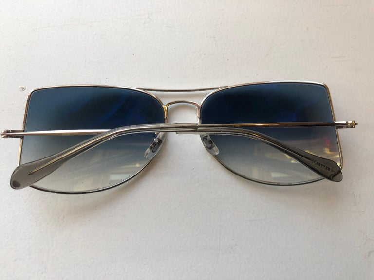Oliver Peoples Jack One OV1090 Unisex Sunglasses w/case In Excellent Condition For Sale In Port Hope, ON