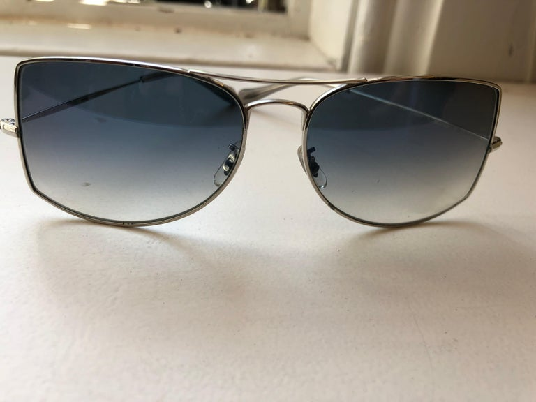 Women's or Men's Oliver Peoples Jack One OV1090 Unisex Sunglasses w/case For Sale
