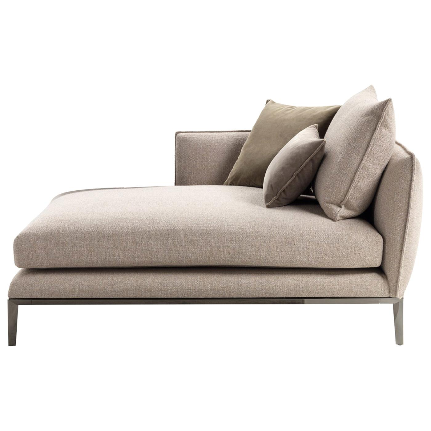Oliver Upholstered Chaise Longue