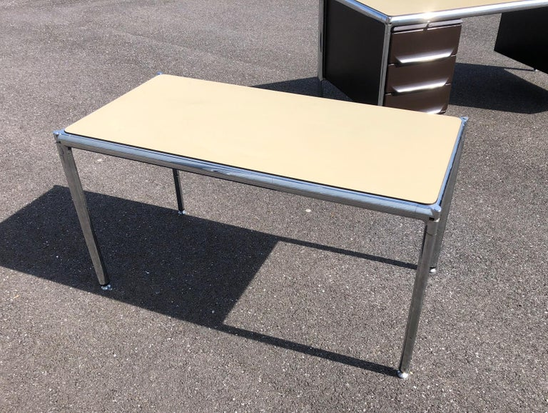 Olivetti Industrial Desk For Sale 3