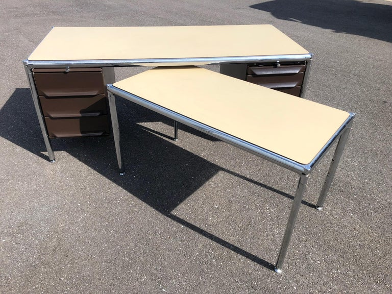 Olivetti Industrial Desk For Sale 7