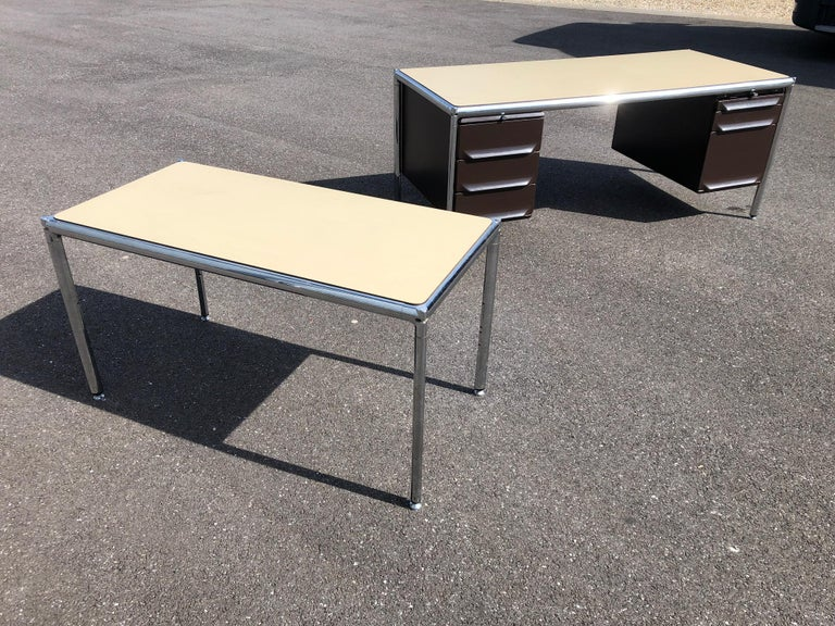 Olivetti Industrial Desk For Sale 2