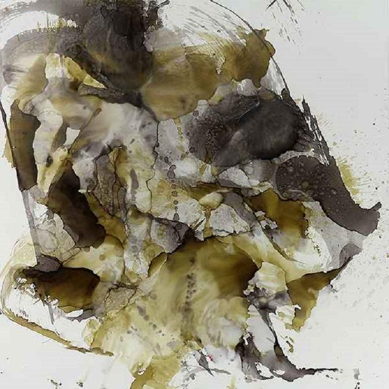 Olivia Brown Abstract Painting - Zhinu