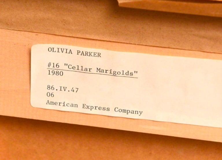 Cellar Marigold  Dandelion - American Impressionist Photograph by Olivia Parker