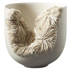Olivia Walker Unique Handmade Sculptural Porcelain Bowl