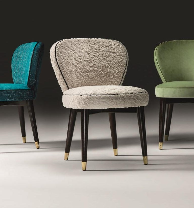 Italian Olivia White Chair For Sale