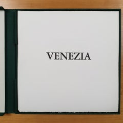 Venice  4/50 - collectors box with ten black-white etching aquatint prints