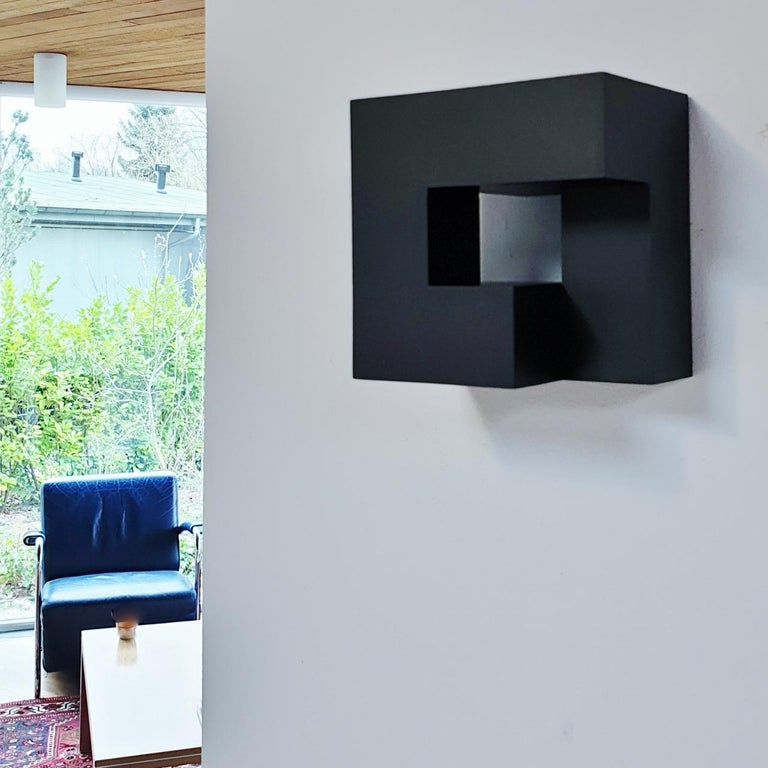 Carré architectural II no. 5/15 - contemporary modern abstract wall sculpture - Painting by Olivier Julia