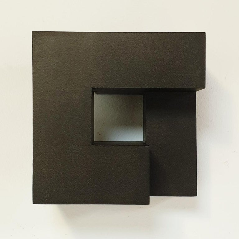Carré architectural II no. 5/15 - contemporary modern abstract wall sculpture - Abstract Geometric Painting by Olivier Julia