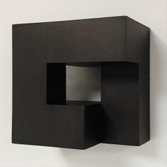 Carré architectural II no. 5/15 - contemporary modern abstract wall sculpture