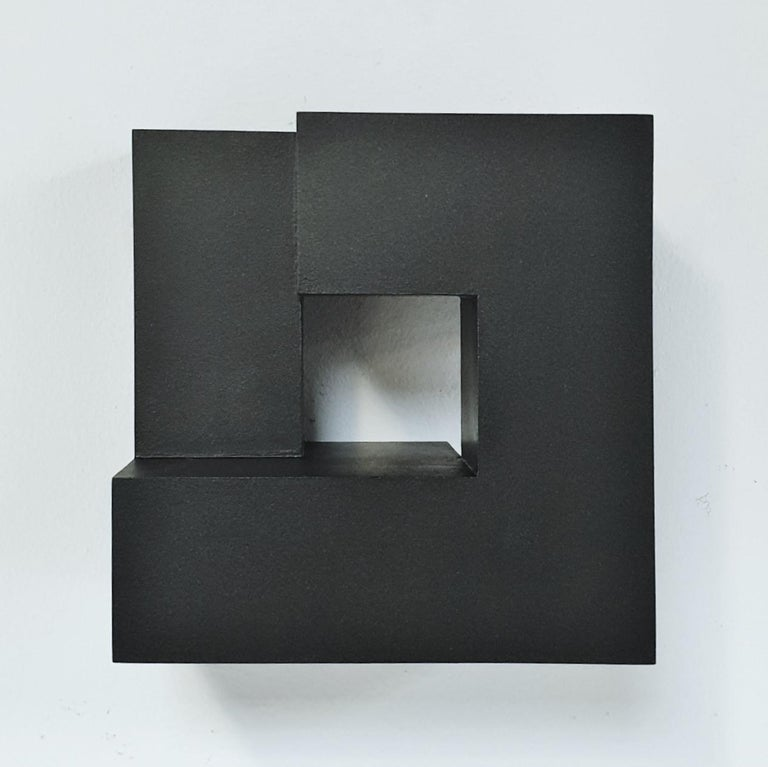 Carré architectural III no. 5/15 - contemporary modern abstract wall sculpture - Abstract Geometric Sculpture by Olivier Julia