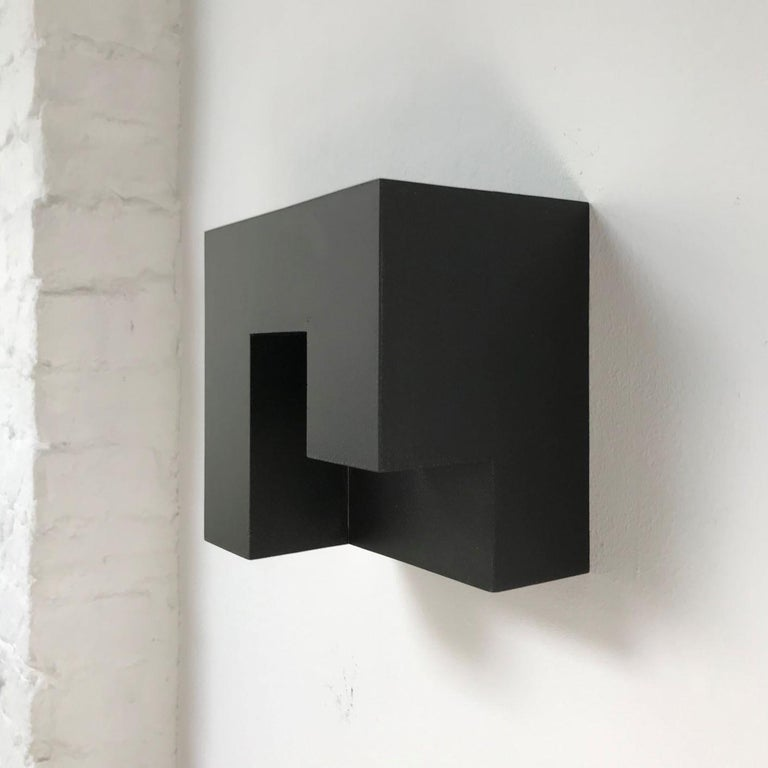 Carré architectural IV no. 5/15 - contemporary modern abstract wall sculpture - Painting by Olivier Julia